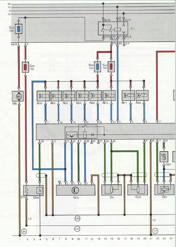 quattroworld.com Forums: J17 Fuel Pump Relay Information and why it is so  important | Audi A8 Fuel Pump Wiring Diagram |  | quattroworld.com Forums