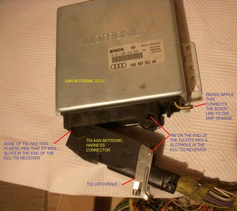 quattroworld com Forums: Removing Pins From the T55 ECU