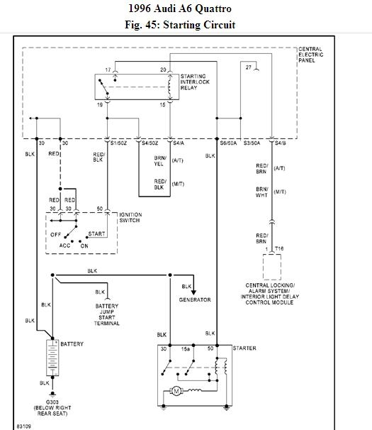 C4 Starting Circuit Wiring Diagram bentley audi a8 blower motor wiring diagram audi wiring diagrams 2001 audi a4 wiring diagram at panicattacktreatment.co
