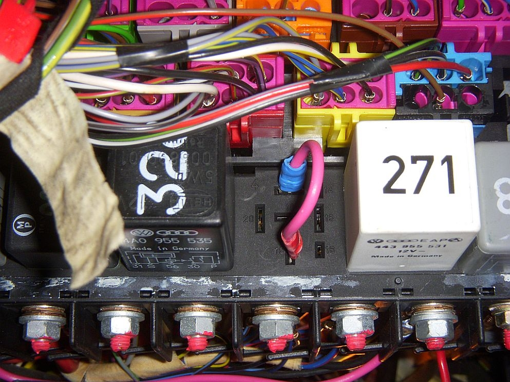 quattroworld com Forums: The role of the J219 relay in the