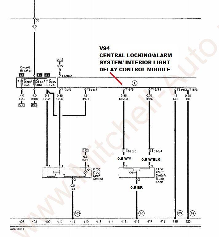 quattroworldcom Forums Secrets of the Rear Hatch Wiring