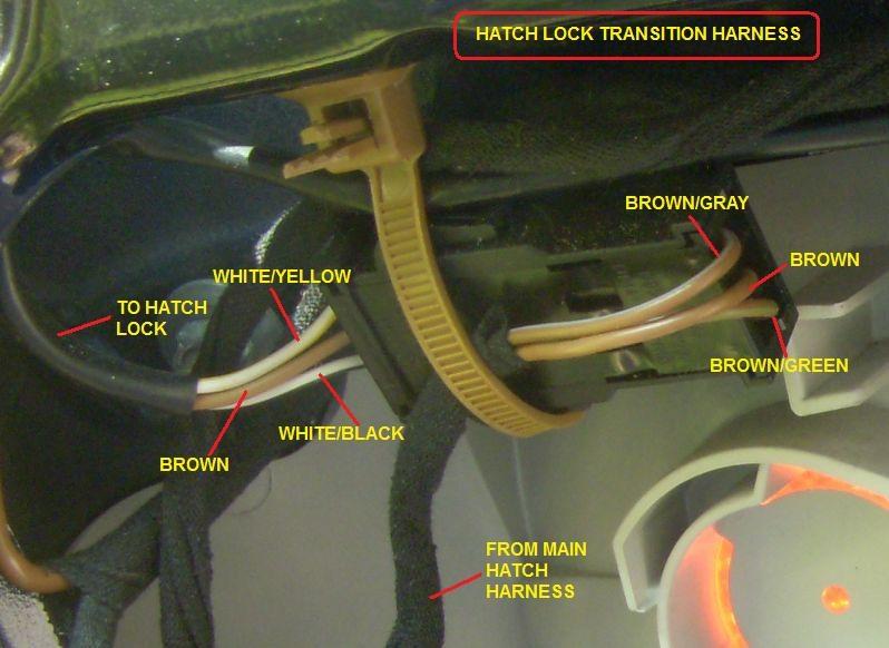 Secrets Of The C4 Rear Hatch Wiring