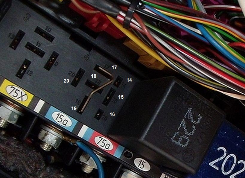 c4 urs4 s6 starting circuit audiworld forums in a pinch if you had to over ride your j219 204 starter interlock relay you could remove it and replace it a jumper made out of two male spade