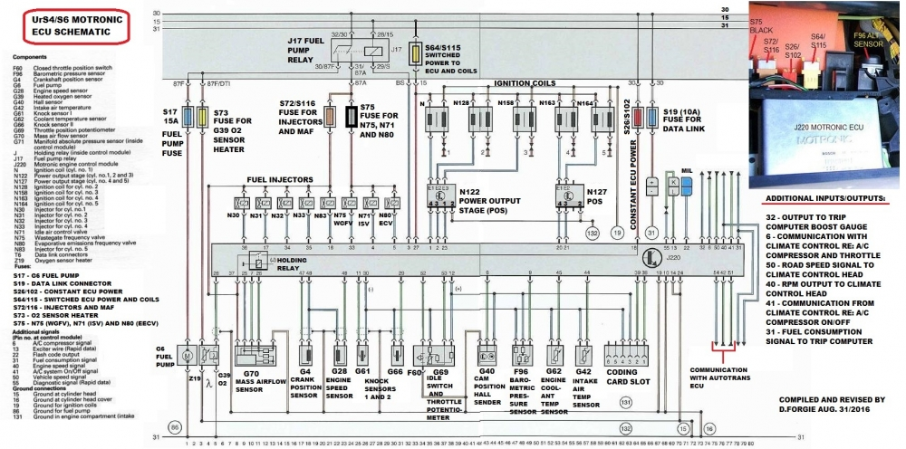 Diagram Schematic Ecu 73 Pin on toyota 4runner engine wiring harness