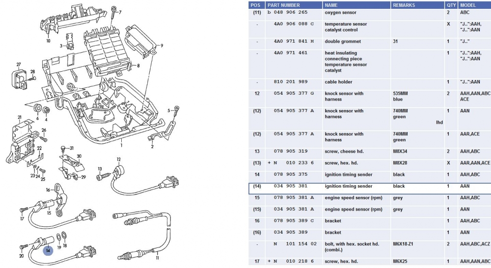 quattroworld com forums  crank position  g4  and engine speed sensor  g28  info