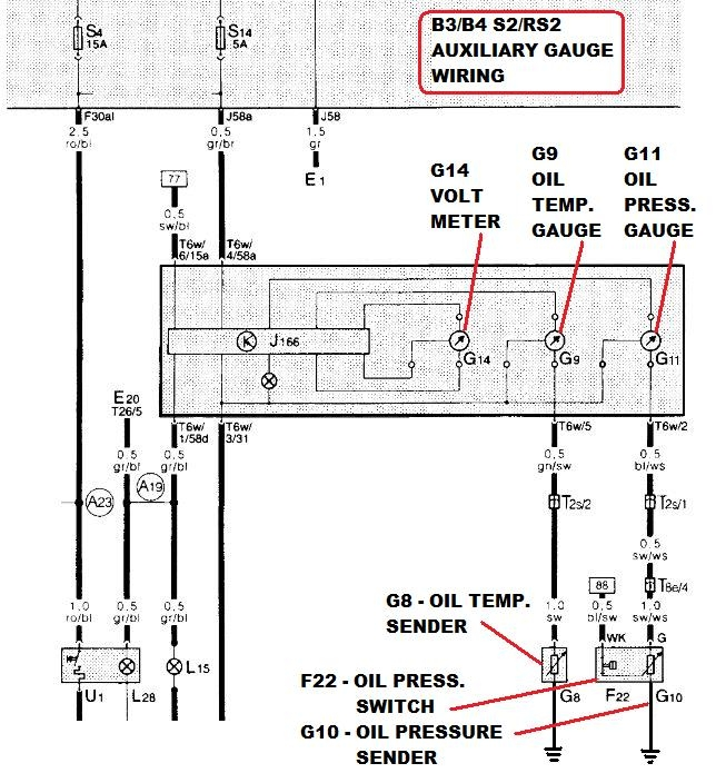 oil pressure switch wiring diagram oil image quattroworld com forums 20vt oil pressure sender switches on oil pressure switch wiring diagram
