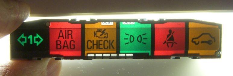 Quot Mysteries Quot Of The C4 Cel Air Bag Seat Belt Warning Light Panel Audiworld Forums