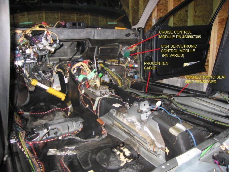 C4 UrS Servotronic Control Module info AudiWorld Forums